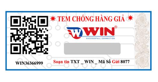 Tem truy xuất nguồn gốc QR Code, SMS kết hợp công nghệ nước, phát sáng